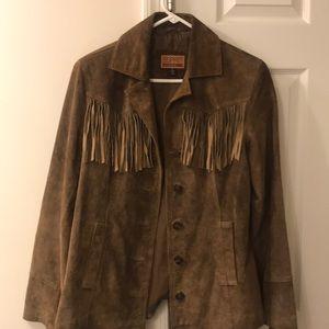 Vintage Esprit Fringed Western Cowgirl Jacket